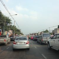 Photo taken at Kaset-Sena Nikhom Intersection by Pitchawoot S. on 2/17/2013