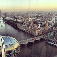 Photo taken at The London Eye by Nuno O. on 6/5/2013