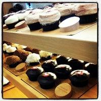Photo taken at Sprinkles Cupcakes by Jo J. on 10/12/2012