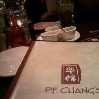 Photo taken at P.F. Chang's by Liz S. on 11/23/2012