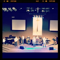 Photo taken at Fall Creek Baptist Church by Jessica K. on 9/23/2012