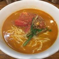 Photo taken at つけ麺・ラーメン れんじや by まさ・なち リ. on 9/9/2015