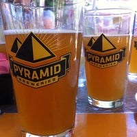 Photo taken at Pyramid Brewery & Alehouse by Anna P. on 8/28/2011