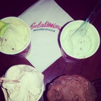 Photo taken at Gelatissimo by Roselle May Nicer A. on 7/4/2013