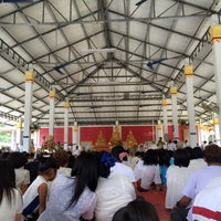 Photo taken at วัดสวนพล by Natsara M. on 10/12/2015