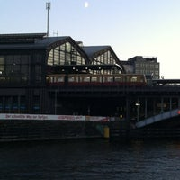 Photo taken at Bahnhof Berlin Friedrichstraße by Patricio H. on 9/22/2012