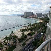Photo taken at Aston Waikiki Beach Hotel by Eric T. on 2/14/2013