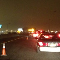 Photo taken at NJ Turnpike Exit 14 by Victoria on 10/6/2013