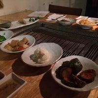 Photo taken at Wharo Korean BBQ by Victoria on 2/26/2016