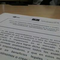 Photo taken at Vivero de Empresas de San Blas. Madrid Emprende by Diego N. on 10/1/2013