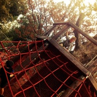 Photo taken at Woodland Discovery Playground @ Shelby Farms by Stephanie L. on 9/16/2012