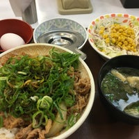 Photo taken at すき家 14号習志野谷津店 by 昼寝 on 9/28/2015