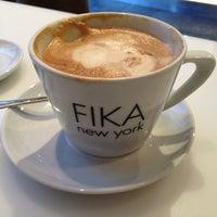 Photo taken at FIKA Espresso Bar by Elizabeth O. on 2/9/2013