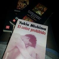 Photo taken at Librería Del Fondo De Cultura Economica by Mire Y. on 8/30/2013