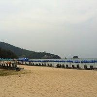 Photo taken at Nai Yang Beach by Edward J. on 2/22/2013