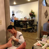 Photo taken at LT Nails by nANCY S. on 3/2/2013
