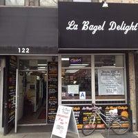 Photo taken at La Bagel Delight by David H. on 3/28/2014
