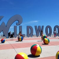"Photo taken at ""Wildwoods"" Sign by Tyler E. on 6/22/2013"