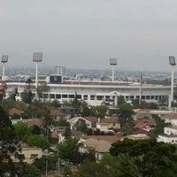 Photo taken at Estadio Nacional Julio Martínez Prádanos by Priscila M. on 10/27/2013