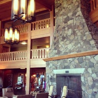 Photo taken at Skamania Lodge by Nick H. on 7/10/2013