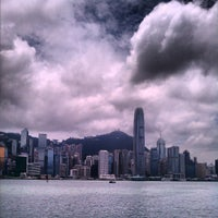 Photo taken at Victoria Harbour by TM H. on 7/21/2013