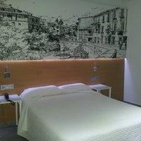 Photo taken at Hostal Atenas Granada by Lorena S. on 12/9/2013