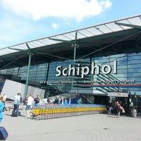Photo taken at Amsterdam Airport Schiphol (AMS) by Kateryna Z. on 6/25/2013