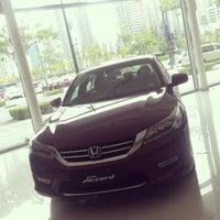 Photo taken at Honda Cars Global City by Corrine Emata   s. on 5/23/2014