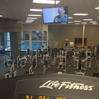 Photo taken at LA Fitness by Michael D. on 9/16/2014