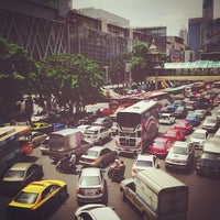 Photo taken at Ratchaprasong Intersection by MrPae T. on 5/17/2013