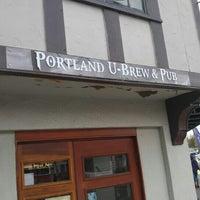 Photo taken at Portland U-Brew & Pub by Melvin T. on 6/24/2016