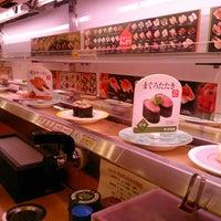 Photo taken at かっぱ寿司 十日町店 by hinayui07 on 11/22/2014