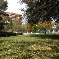 Photo taken at Parque Inés de Suárez by Julio M. on 10/14/2012