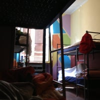 Photo taken at Alessandro Downtown Hostel by Nelson C. on 4/28/2013