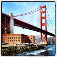 Photo taken at Fort Point National Historic Site by Nick R. on 2/16/2013