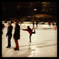 Photo taken at Wollman Rink by Fei J. on 12/14/2012