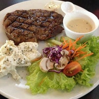 Photo taken at Ayers Rock Butcher & Grill by Aedewan A. on 3/2/2013