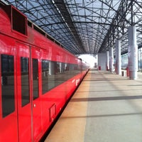Photo taken at Аэроэкспресс Шереметьево (SVO) – Москва / Aeroexpress Sheremetyevo (SVO) to Moscow by Jurgen T. on 10/20/2012