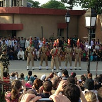 Photo taken at Wagah Border - India Pakistan Border by Kalchuk E. on 4/19/2013