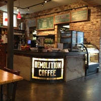 Photo taken at Demolition Coffee by Elle B. on 2/24/2013