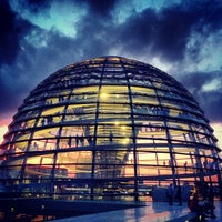 Photo taken at Reichstag Dome by Olga T. on 7/19/2013
