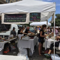 Photo taken at FRESHFARM Market by the White House by Jenn 😺 W. on 7/16/2015