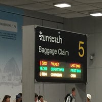 Photo taken at Baggage Claim 5 by Kityaporn C. on 6/7/2015