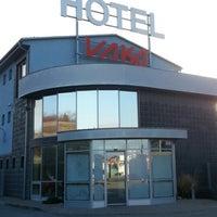 Photo taken at Vaka Hotel Brno by Максим Б. on 2/8/2013