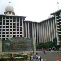 Photo taken at Masjid Istiqlal by Julie on 5/15/2013