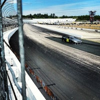 Photo taken at New Hampshire Motor Speedway by Erick W. on 5/15/2013