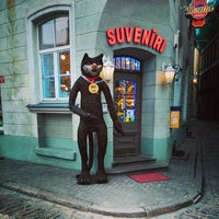 Photo taken at Doma Hostel in Riga by Дмитрий К. on 11/15/2014