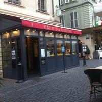 Photo taken at Café du Centre by Riso on 9/21/2012