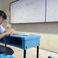 Photo taken at SMA Sutomo 1 Medan by Faustina Y. on 8/3/2013