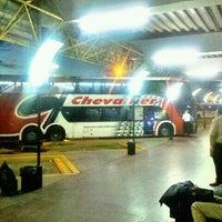 Photo taken at Terminal de Omnibus Pergamino by Juan Manuel G. on 11/26/2012